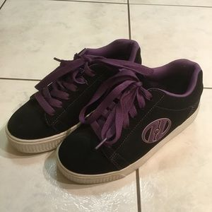 Kids Heelys With Wheels Shoes Size 3